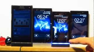 Xperia P, U and Sola Unboxing