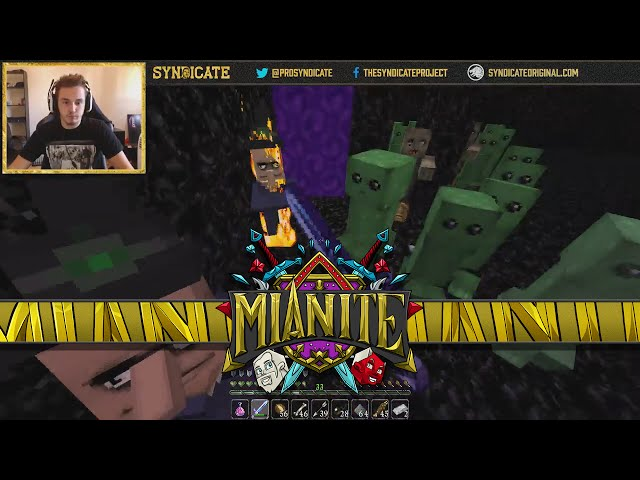 Minecraft: Mianite - THE ULTIMATE MOB FIGHTING CHAMPION! [65]