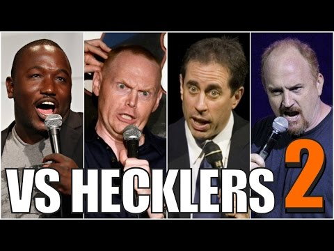 Famous Comedians VS. Hecklers (Part 2/2)