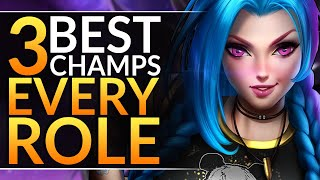 Top 3 BROKEN CHAMPIONS to MAIN of EVERY ROLE - 10.4 BEST Meta Picks and Tips | LoL Pro Guide