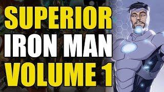 Iron Man's New Endosym Armor (Superior Iron Man Vol 1: Infamous)