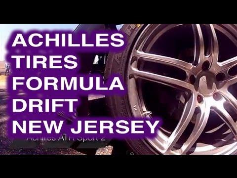 Achilles Tire Formula Drift New Jersey 2012 - Daigo Saito, Robbie Nish