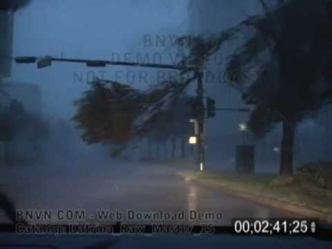 8/29/2005 Hurricane Katrina Video From New Orleans, LA - Sunrise Footage - Katrina Raw Master 15