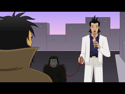 El gran golpe del chimpancé