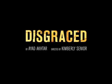 DISGRACED on Broadway television commercial
