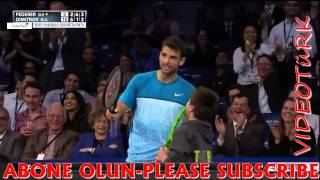 Federeri Madara Eden Çocuk - Federer exhibition match to children amazing