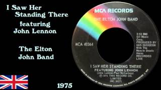 Watch Elton John I Saw Her Standing There video