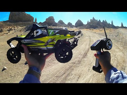 WLToys XK K959 RC Baja Buggy Racer Test Drive Review