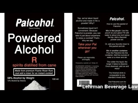 Powdered Alcohol Not Actually Approved After All