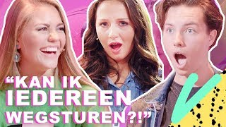 Verkiest MISS TEEN UNIVERSE PIZZA boven SEKS?! | Love at First Lie - CONCENTRATE VELVET