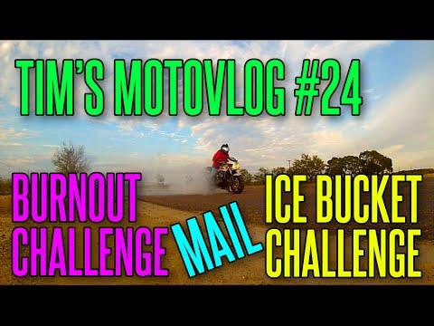 Tim's Motovlog #24: Burnout Challenge | Ice...