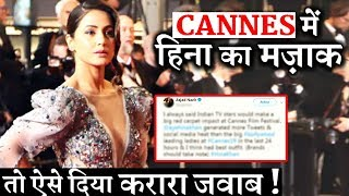 Hina Khan Lashes out at filmfare editor Jitesh Pillai for mocking her Cannes LOOK