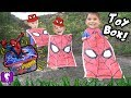 SPIDERMAN Adventure Treasure Chest HUNT! Rockets + TOYS Hobby...