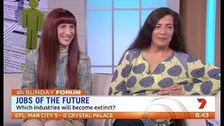 Shara Evans | Weekend Sunrise - Robots threaten 5 million Aussie jobs
