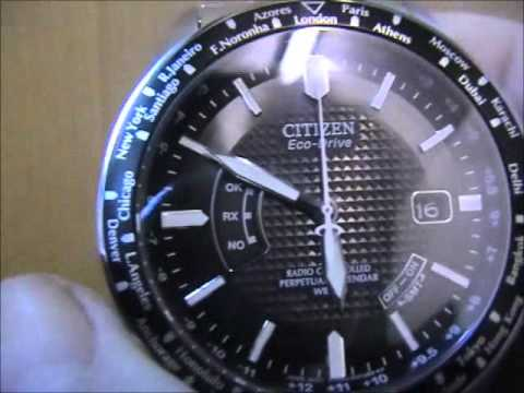 Citizen Radio-Controlled CB0020-50E Watch Video Review