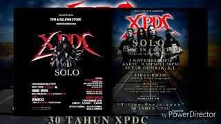 Promo konsert xpdc solo _03 nov 2018