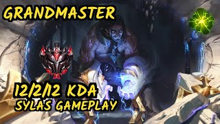 PNG Grevthar (SYLAS) vs NEEKO - 12/2/12 KDA MID GAMEPLAY - BR Ranked GRANDMASTER