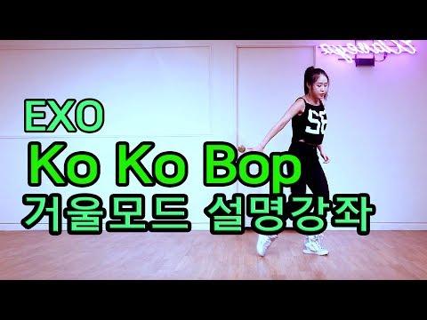 Tutorial Mirrored EXO Ko Ko Bop 엑소 코코밥 거울모드 느리게배우기 설명강좌  WAVEYA