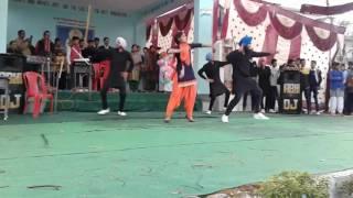 Bhangra dance sandhole school
