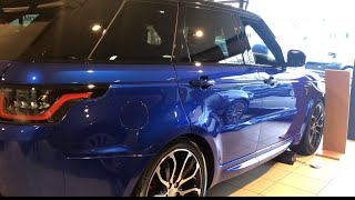 Powerful New 2019 Range Rover Sport Autobiography 5.0L V8
