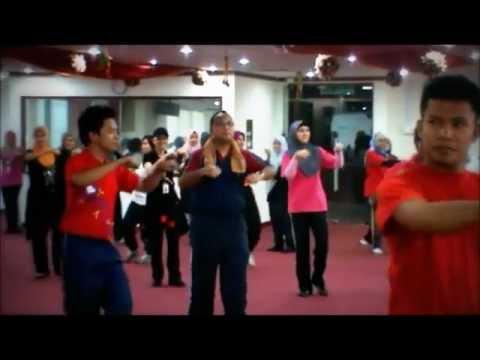 Senam Seni 1 Malaysia Jkkn 2012 video