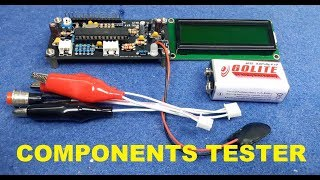 DIY Electronic Components Tester
