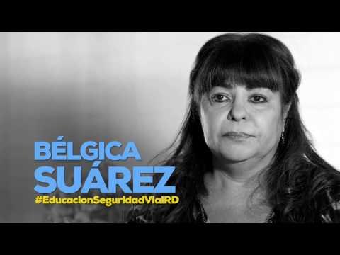 Bélgica Suárez #EducacionSeguridadVialRD