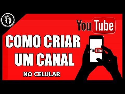 Como criar um canal no Youtube pelo celular (Android) thumbnail