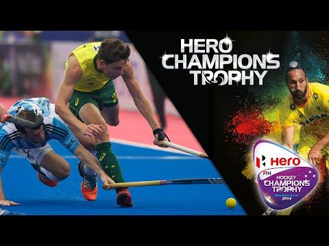 Argentina vs Australia - Men's Hockey Champions Trophy 2014 India QF2 [11/12/2014]
