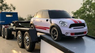 Unboxing of RC Mini John Cooper Works Diecast Model Car | MAN RC Truck | RC Car | By Mini Lifestyle