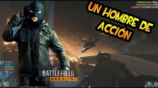 BATTLEFIELD HARDLINE | Conquista en Hollywood Heights Tremendo caos, Soy el Camper mata Campers