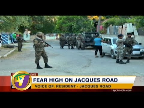 TVJ News: Fear High on Jacques Road - January 5 2020