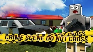 Disaster at Pool Party Ends in Police Investigation! - Brick Rigs Roleplay Gameplay - Lego Police