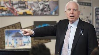 John McCain Slams Trump Over Khan Family Spat