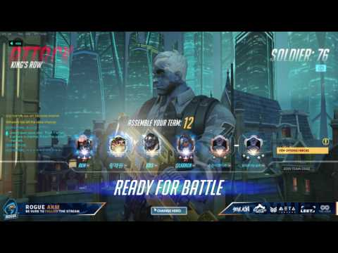 Rogue AKM Solo Climbing the Korean Ladder with Soldier:76