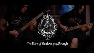 OPERUS - The Book of Shadows (Guitar Playthrough)