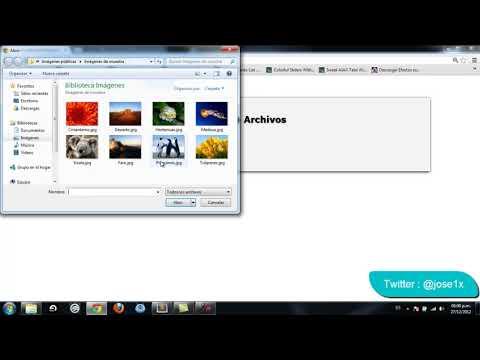 Como subir archivos y mostrar contenido de un directorio con PHP (HD)