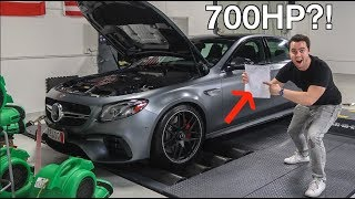 I DYNO'D MY 2018 E63S AMG AND THE NUMBERS ARE INSANE