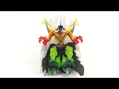LEGO Hero Factory MOC:  Goruz & his epic Crystal Throne