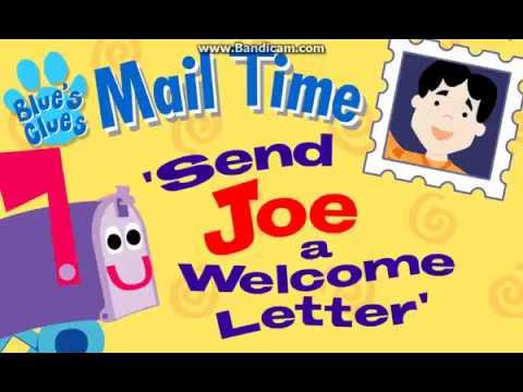 Blue's Clues - Send A Letter To Joe (2002 Flash Activity)