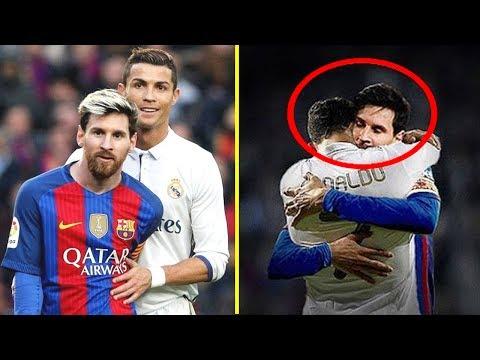 Cristiano Ronaldo vs Lionel Messi    Momentos Hermosos #RESPECT
