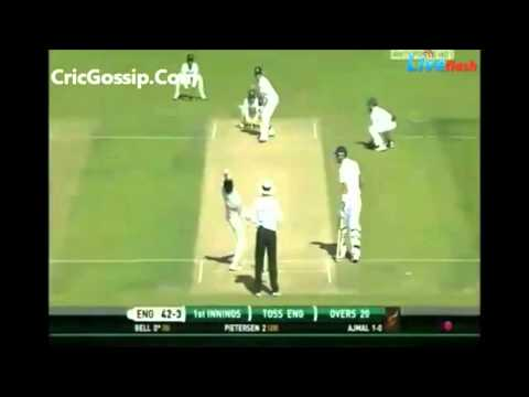 Saeed Ajmal 7 wickets,Jealous English Commentator Talks on his Action...