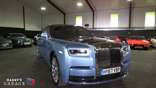 2018 Rolls Royce Phantom full review and road test