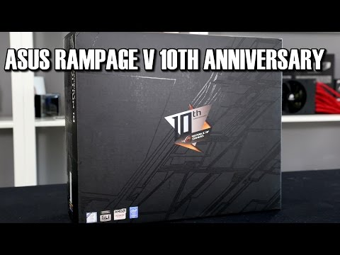 Asus Rampage V 10th Anniversary Edition