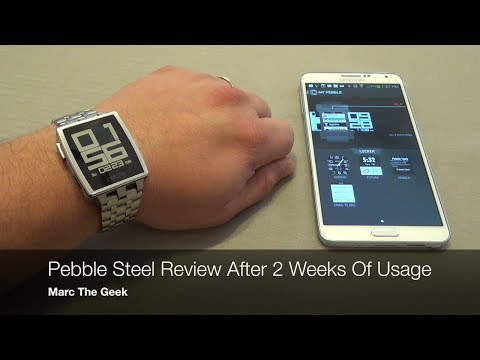 Pebble Steel Review - After Two Weeks of Usage