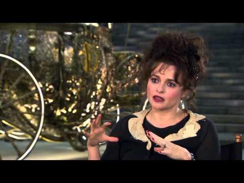 Helena Bonham Carter Cinderella Interview