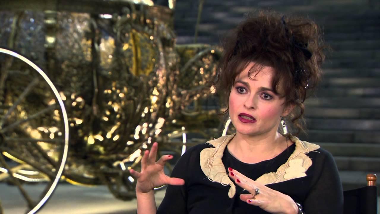Helena Bonham Carter Cinderella Interview images Helena Bonham Carter