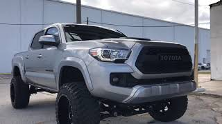 6 inch lifted 2017 Toyota Tacoma TRD Sport