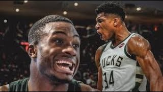 Antetokounmpo Brothers MURDER Utah JAZZ in  Thanasis Antetokounmpo Buck DEBUT 2019 NBA Preseason