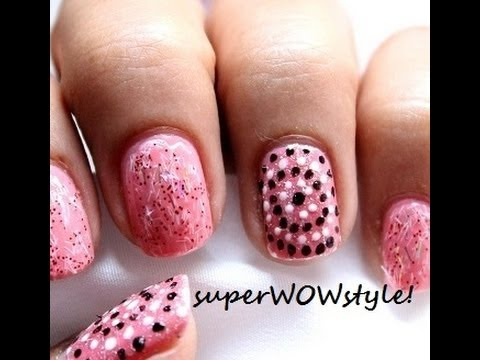 Toothpick Nail Design For Beginners - Very Easy Nail Designs With Toothpick Nail Art Home ...